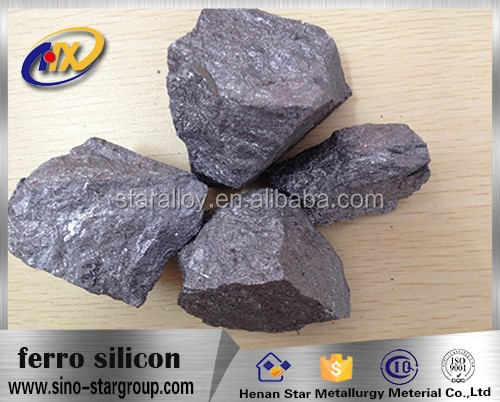 factory price steelmaking additives ferro silicon 72/75 china manufacturing