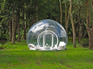 Hot Sale Outdoor Camping Inflatable Clear Air Dome Tent, Inflatable Bubble Lodge Tent