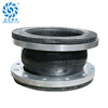 foshan pipe valve pn16 dn150 flange epdm rubber flexible pipe coupling