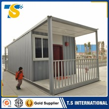 new style Easy in installation bahamas low cost prefab container house