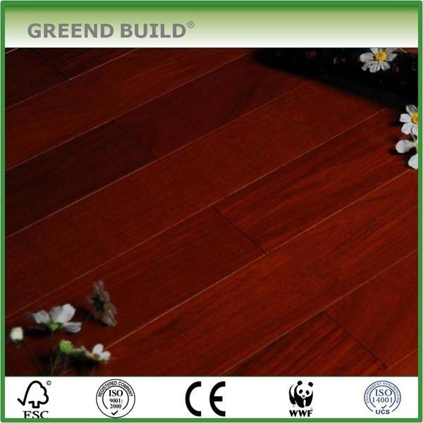 Cumaru easi clean wood floor