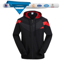 Zip up hoodies wholesale 80% cotton 20% polyester sports hoodies