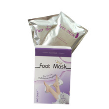 exfoliating peel off mask foot spa gel socks exfoliation foot mask