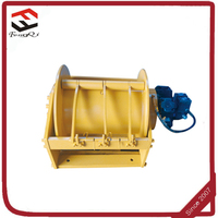 powered winch for wood