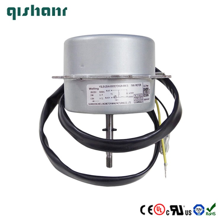 Ce approved new design universal electric fan motor ydk28 for Motor for ac unit cost