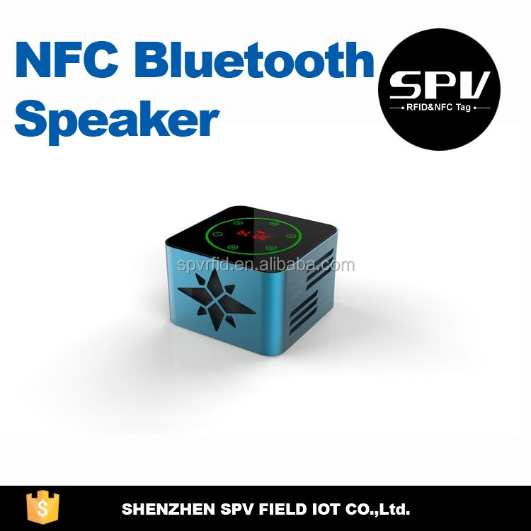 NFC Bluetooth Speaker LED Bass