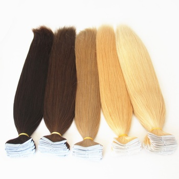 usa walker glue quality virgin remy brazilian human hair tape hair extension