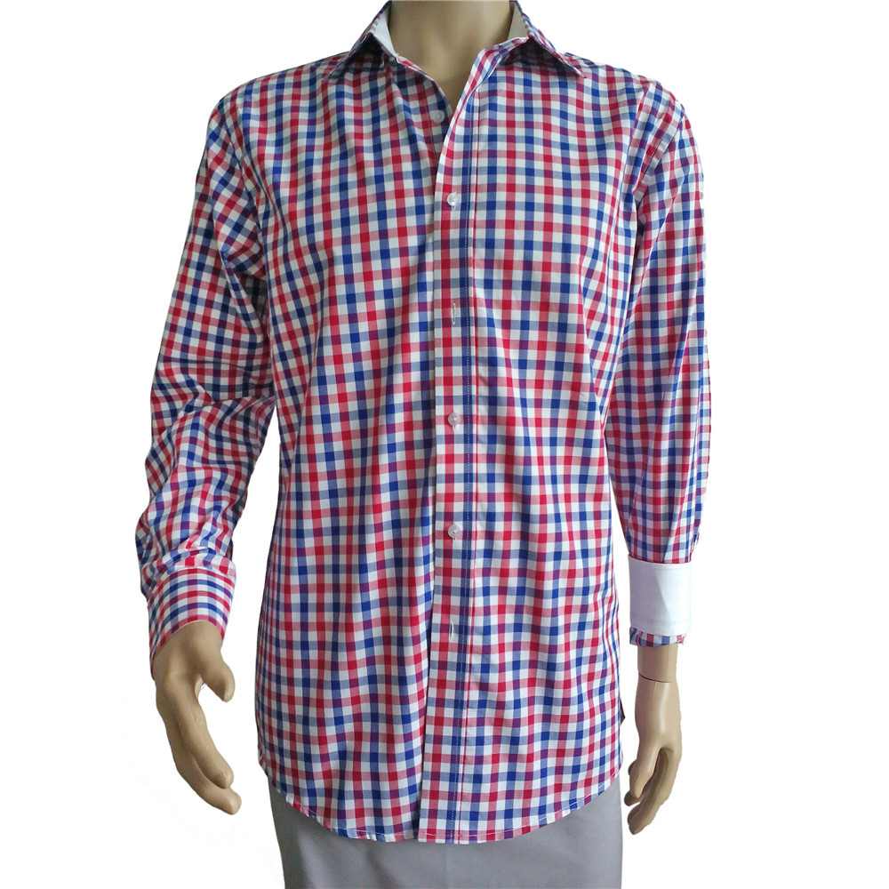 Professional made OEM quality 100% organic cotton dress shirts directly sale