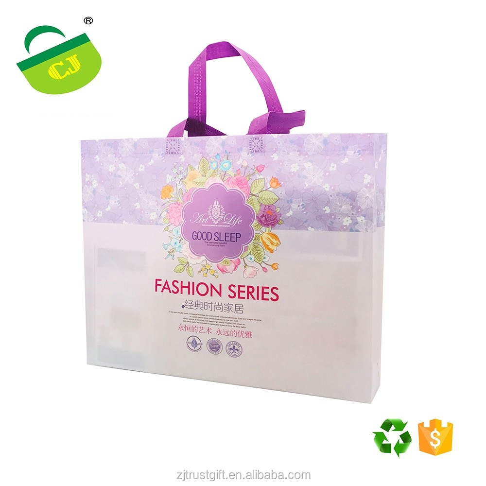 new product Customized Promotional Laminated Non Woven Shopping Bag