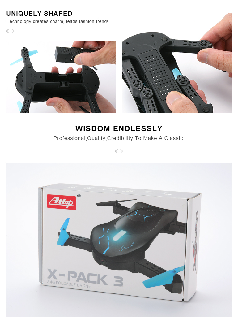 long range rc aircraft foldable wifi camera pocket drone for kids