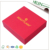 Custom full color printed cardboard paper square wedding invitation box luxury with lids