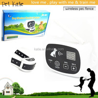 High Quality 100 Levels Adjustable Wireless Electronic Dog Fence KD-661