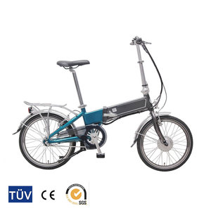 Approved by CE certification inner 7 speed folding electric bike bicycle made in china