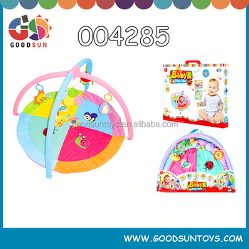 Wholesale cheap kids outdoor baby around rubber play mat