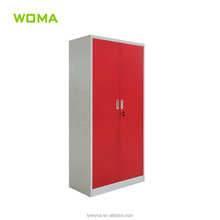 High quality clothes wardrobe steel cupboard design price for Dubai or UAE