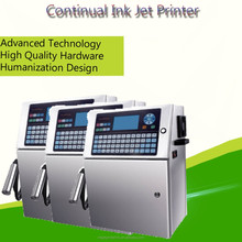 suzhou manufacturer Tin cans/Aluminum foil/Metal CIJ inkjet batch coding machine