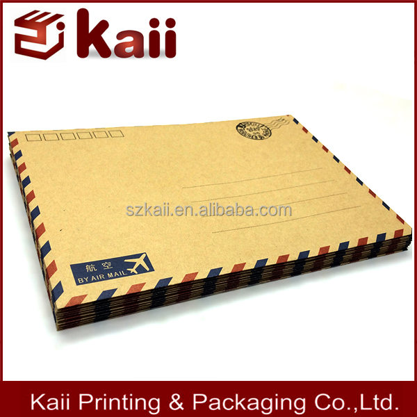 Shipping Packing Corrugated Manlia Envelope Size with low price