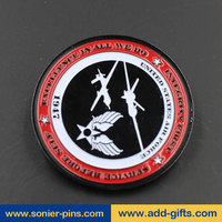 Custom Engraved Challenge Coin Dye Black