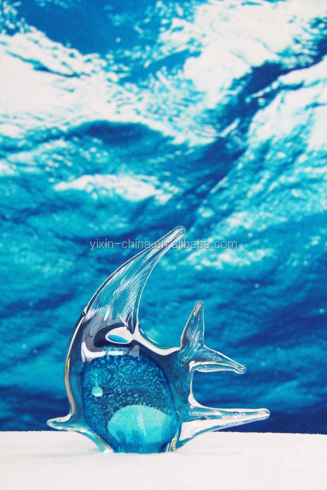 crafted glass fish