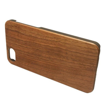 In stock wood phone case for iphone 5s 6s 7 plus for samsung with eco-friendly material