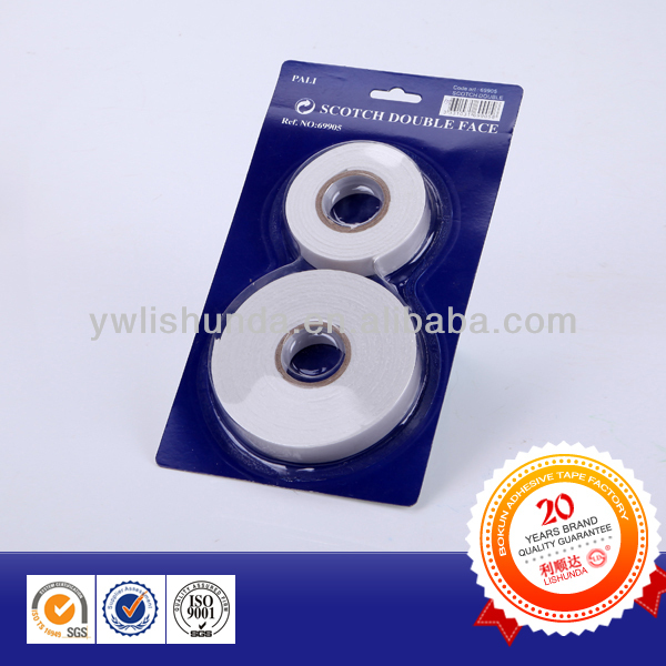 Heavy duty Double sided EVA Foam Tape mountain tape in Blister card