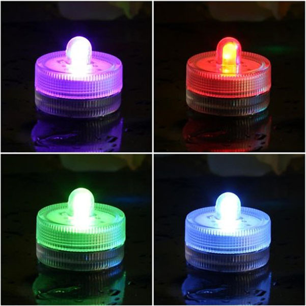 Waterproof LED Tea Light Candles