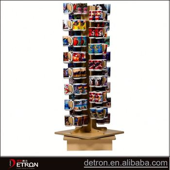 Wooden Rotating Display Stand For Cups Buy Display Stand