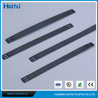 Haitai Factory Supplier Newest Originality Nylon PA66 Black Carrier Marker Strips