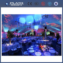 led light balloon, hanging colourful jellyfish, decoration inflatable jellyfish