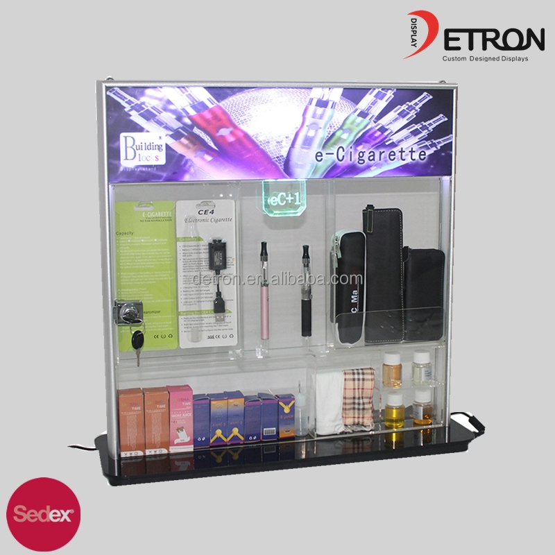 LED tube display with Mobile Phone Accessories Counter Display & Display Cases &Watch Display