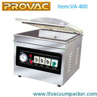 Vacuum packaging machine meat