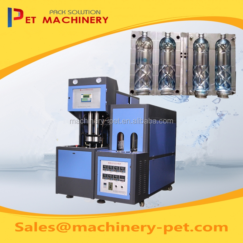 Semi Automatic PET Blow Molding Machine/ Plastic Water Bottle Maker
