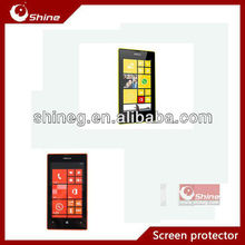 High Quality for nokia lumia 520 screen protector /screen guard/screen shiled for nokia lumia 520 with manufacturer price