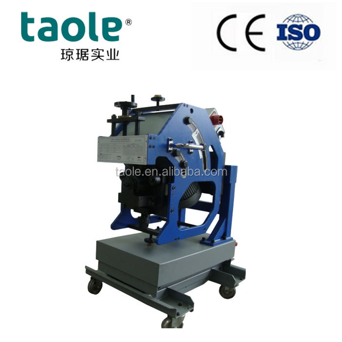 Automatic Plate Beveling Machine <strong>cold</strong> cut beveller GBM-12 install and assemble