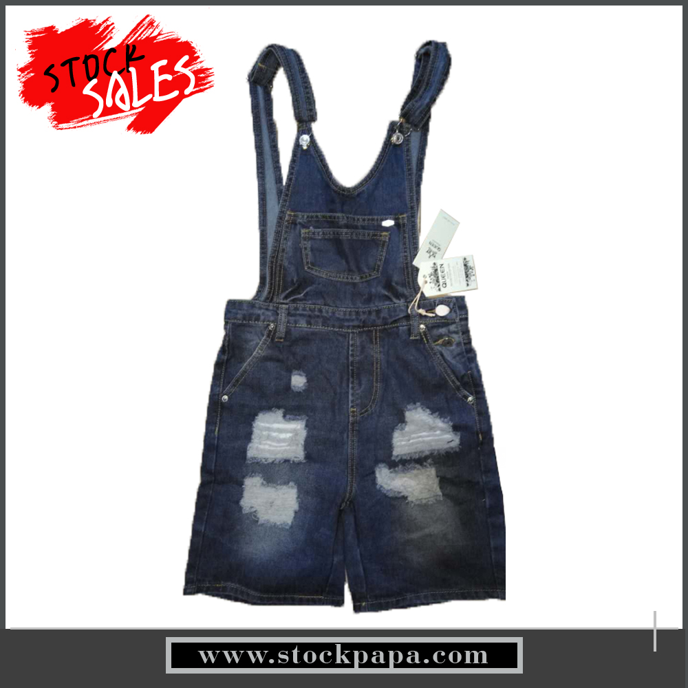 fashion cotton ladies jeans denim overalls