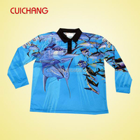 Custom fishing shirts&polyester fishing shirt&quick dry fishing shirts cc-427