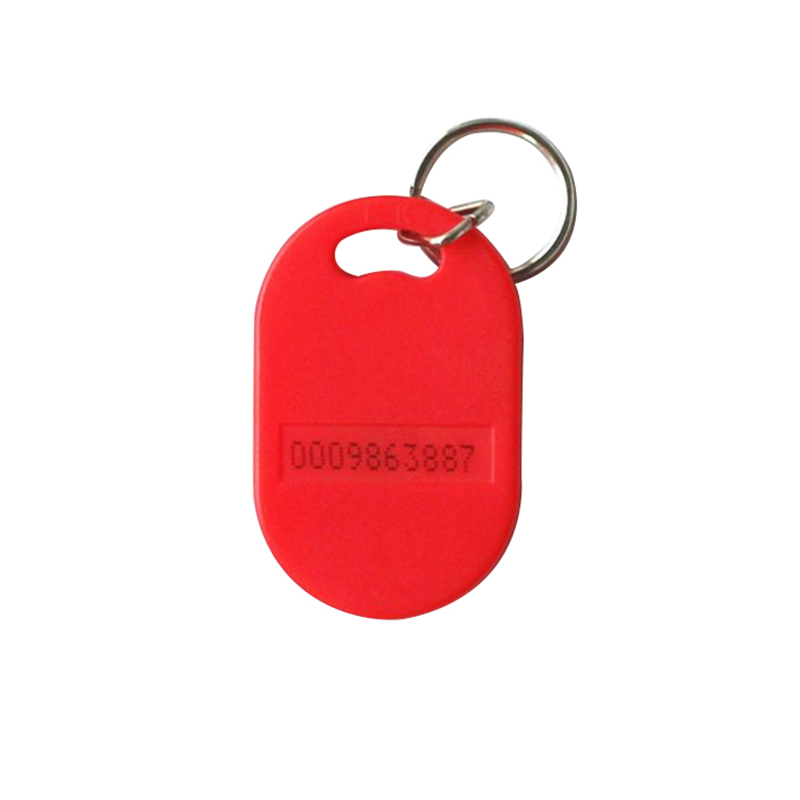 ABS RFID Smart Key Fob With Metal Ring
