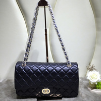 Wholesale fashion high quality sheep leather sling women designer handbags , genuine leather bag