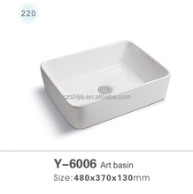 Y6006 Top Mount antique washbasin