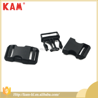 High quality adjustable strap plastic backpack slide buckles