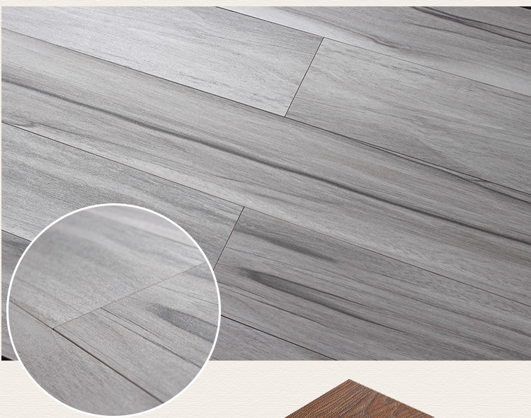 150x900mm Gray wooden floor buliding material ceramic vitrified tile with best price Y91001