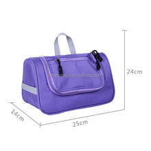 top quality large hanging travel toiletry organizer bag/case
