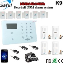 2016 Newest 2G 3G Mobile SIM Card APP Remote Control Wireless Burglar Alarm System