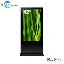 Floor standing computer case with lcd temperature display with global guarantee