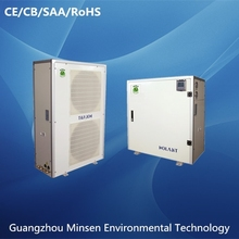 Split triple supply heat pump air source heat pump for heating cooling