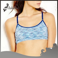 Triumph bra space dye fabric made by clothing factory