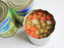 Fresh Best Canned Vegetables Chinese Canned Mixed Vegetables Brands 3000G