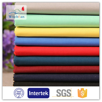 Fabric white poly cotton pocketing fabric