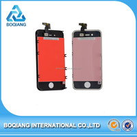 100% original front lcd touch screen with digitizer for iphone 4 screen