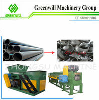 NEW CE products plastic Pipe shredder/ crusher machine